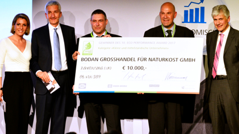 Eco Performance Award ceremony