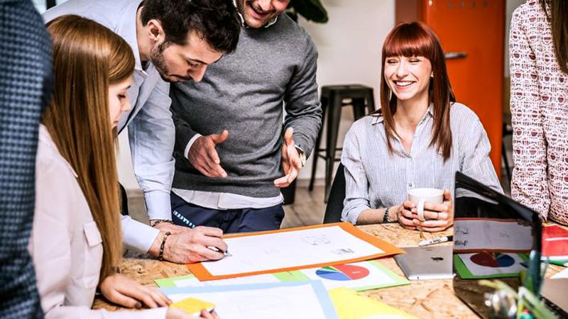 People brainstorming new ideas