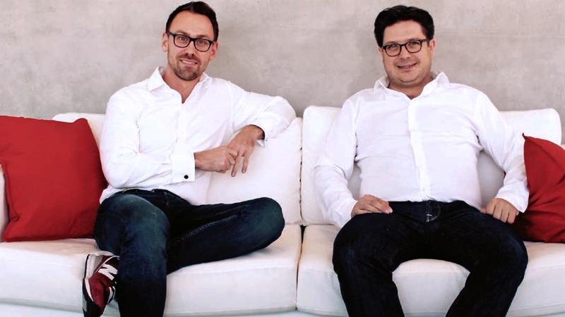 Philipp Ortwein and Gion-Otto Presser-Velder